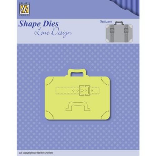 Nellie Snellen Punching template: Suitcases
