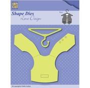 Nellie Snellen modello di punzonatura: Veste + grucce
