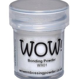 FARBE / STEMPELKISSEN Wow! Bonding Powder for metallic foils!