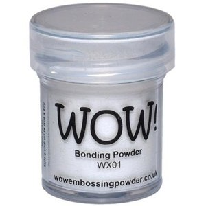 FARBE / STEMPELKISSEN Wow! Bonding Powder for metallic foils!