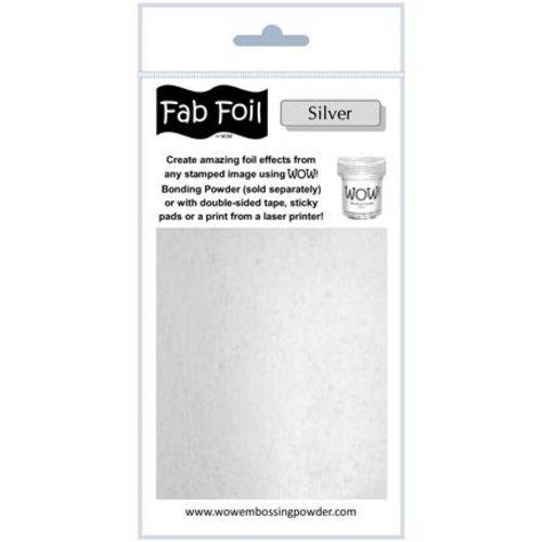 BASTELZUBEHÖR, WERKZEUG UND AUFBEWAHRUNG Glitter silver metallic foil
