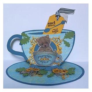 Dutch DooBaDoo Card Art: Tee Tasse