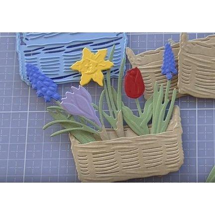 Marianne Design Blomster   Tiny er forår blomster Creatables