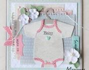 modèle de poinçonnage, bébé, COL1419 Vidéo Partie 1 et 2