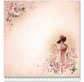 """LaBlanche Lablanche Papers """"Roses"""""""