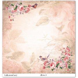 """LaBlanche Lablanche carte """"Roses"""" 3"""