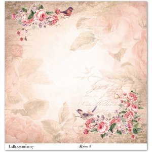 """LaBlanche Lablanche Papers """"Roses"""" 3"""