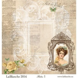 """LaBlanche Lablanche Papers """"Dames"""" No.1"""