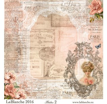 """LaBlanche Lablanche Papers """"Ladies"""" No.2"""