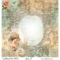 """Lablanche Papers """"Ladies"""" No.3"""