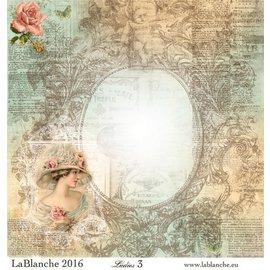 "LaBlanche Papeles Lablanche No.3 ""Damas"""