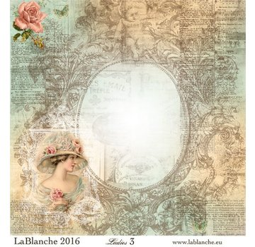 """LaBlanche Lablanche Papers """"Ladies"""" No.3"""