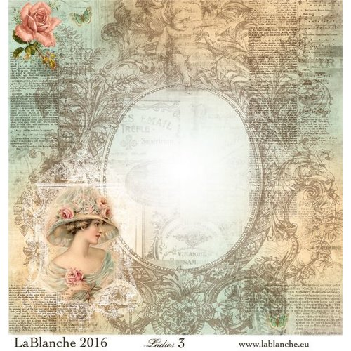 """LaBlanche Lablanche Papers """"Dames"""" No.3"""