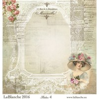"""Lablanche Papers """"Ladies"""" No.4"""