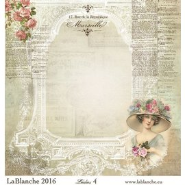 "LaBlanche Lablanche Papers ""Dames"" No.4"