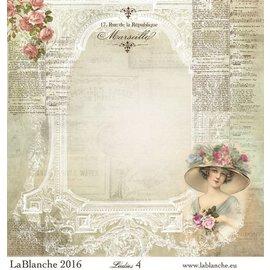 "LaBlanche Papeles Lablanche No.4 ""Damas"""
