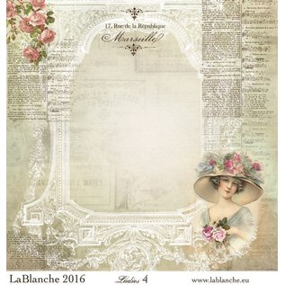 """LaBlanche Lablanche Papers """"Dames"""" No.4"""