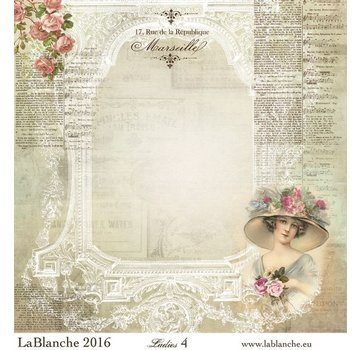 "LaBlanche LaBlanche Papers ""Ladies"" No.4"