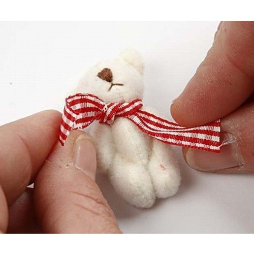 Embellishments / Verzierungen 6 Decoration mini teddy bear as decoration