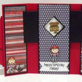Nellie Snellen Stansning skabelon: Magic Card, rektangel