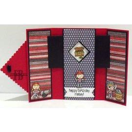 Nellie Snellen Ponsen sjabloon: Magic Card, rechthoek