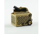 design della scatola con accessori
