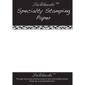 LaBlanche Spezielles Stempelpapier von LaBlanche