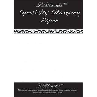 LaBlanche Speciale stempel papier Lablanche