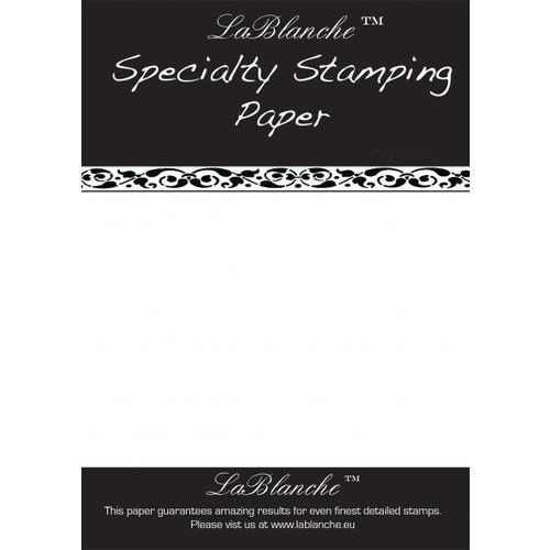 LaBlanche Special stamp paper from LaBlanche