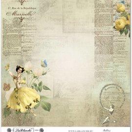 """LaBlanche Lablanche Papers No.3 """"Balletto"""""""