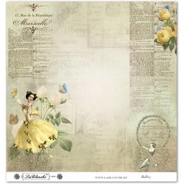 """LaBlanche LaBlanche Papers """"Ballet"""" n ° 3"""