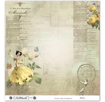 """LaBlanche LaBlanche Papers """"Ballet"""" Nr.3"""