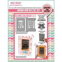 NOVEDAD: Set para el diseño de mini tarjetas de animación !! ÚLTIMA PLANTILLA