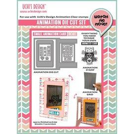 Uchi's Design NOVEDAD: Set para el diseño de mini tarjetas de animación !! ÚLTIMA PLANTILLA