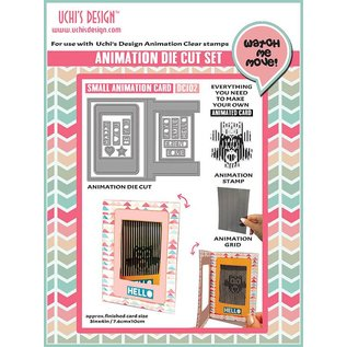 Uchi's Design NIEUW: instellen voor het ontwerpen van minikaarten met animatie !! LAATSTE SJABLOON