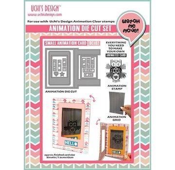 Uchi's Design NY: Set til design af animation mini kort !! SENESTE MASKIN