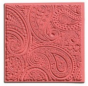 GIESSFORM / MOLDS ACCESOIRES 1 tessitura mat, Paisley, 90 x 90 mm