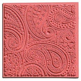 Modellieren 1 textuur mat, Paisley, 90 x 90 mm