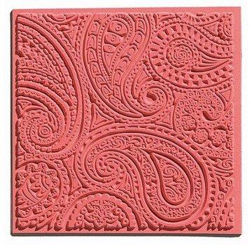 GIESSFORM / MOLDS ACCESOIRES 1 Texturmatte, Paisley, 90 x 90 mm