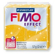 Fimo® Effect, 56 / 57 g, gold glimmer