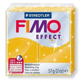 Virkning FIMO®, 56/57 g, guld glimmer