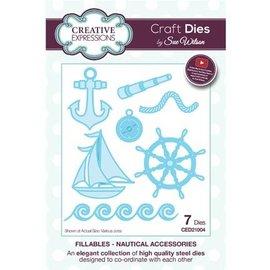 CREATIVE EXPRESSIONS und COUTURE CREATIONS Accessoires de coupe: filières nautiques