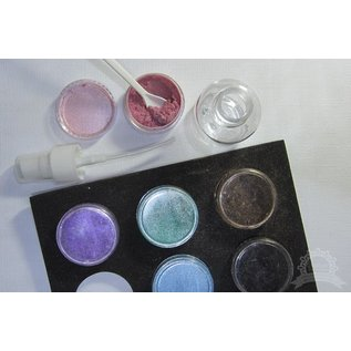 FARBE / STEMPELKISSEN 20% speciale korting! 12 Kleuren: Mix & Match Pigment Poeder