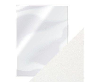 Karten und Scrapbooking Papier, Papier blöcke Pearl White Pearlescent Card A4 250gsm