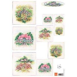 Bilder, 3D Bilder und ausgestanzte Teile usw... Bilderbogen, A4