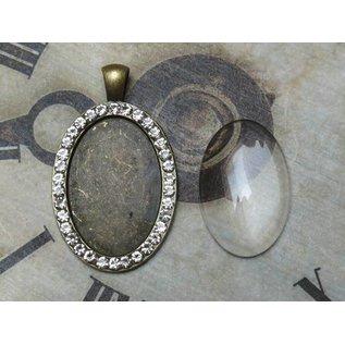 LaBlanche Embellishments / Metals with Rhinestones