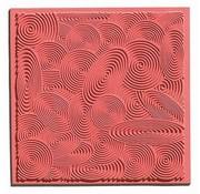 GIESSFORM / MOLDS ACCESOIRES 1 texture mat Spirals, 90 x 90 mm