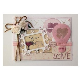 Joy!Crafts / Jeanine´s Art, Hobby Solutions Dies /  Stamping template: Love balloon