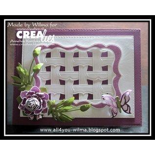 Crealies und CraftEmotions Punching template border