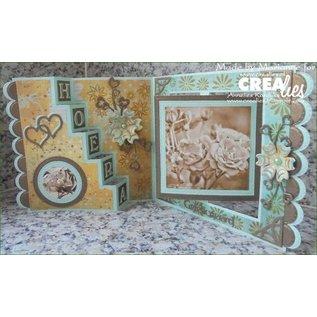 Crealies und CraftEmotions Punzonatura frontiera modello